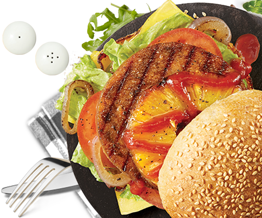 beef style burger